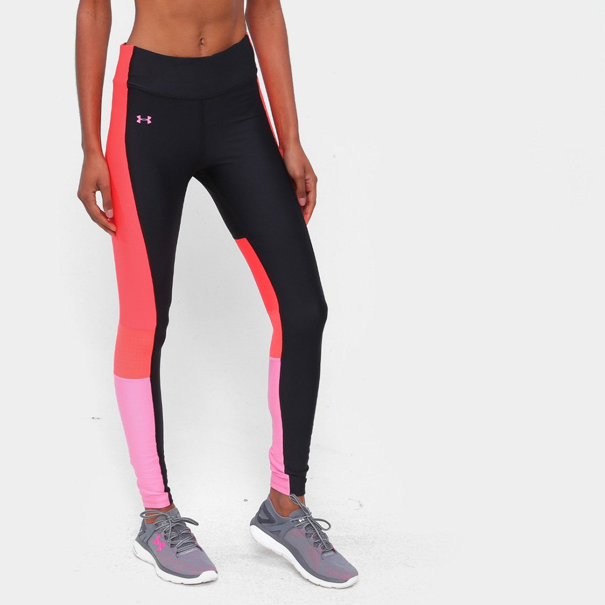 Calça Legging Under Armour Perf Inset Gra Feminina