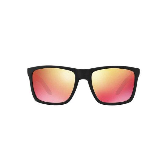 d9ac16b1f70ce Óculos de Sol Arnette Quadrado AN4177 Witch Doctor Masculino - Preto+Rosa