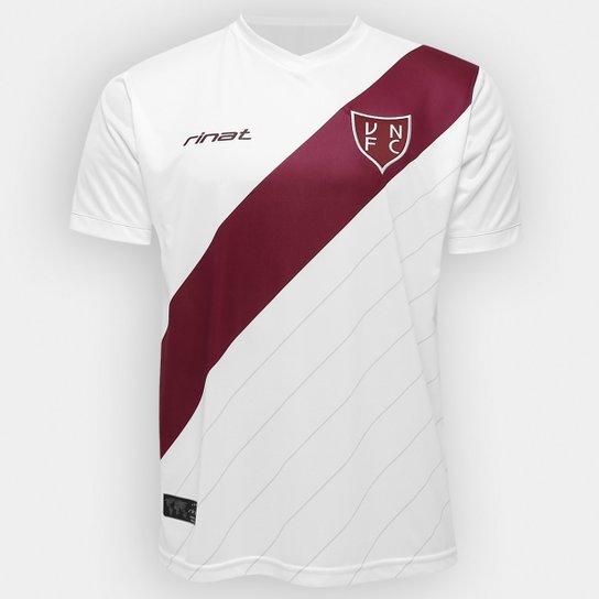 0735c29cf2acf Camisa Vila Nova III 2016 s nº - Torcedor Rinat Masculina - Branco+Vinho