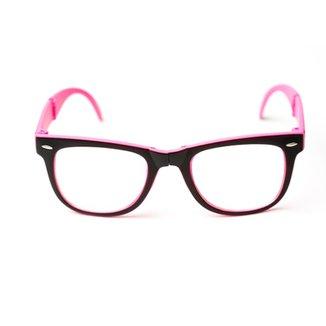 59f4d68310014 Armação de óculos Thomaston Dobrável Preto e R