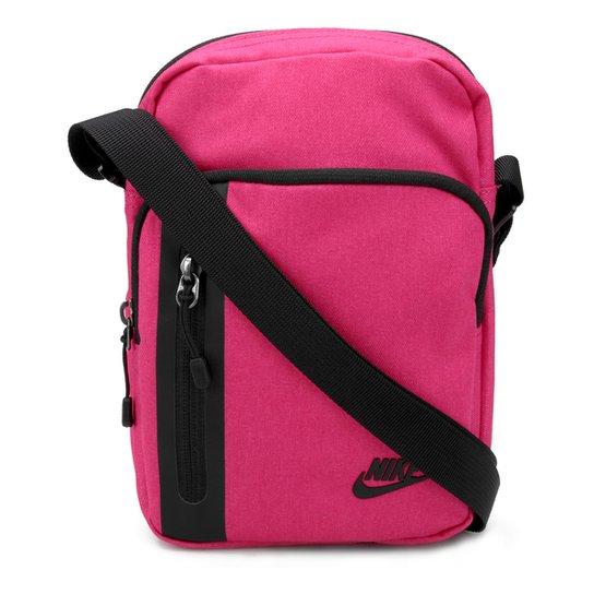 ec71c0331 Bolsa Nike Core Small Items 3.0 - Preto e Rosa | Zattini