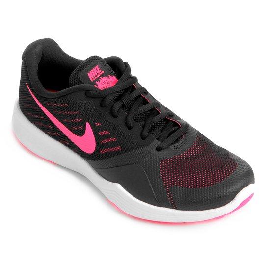 Tênis Nike City Trainer Feminino - Preto e Rosa - Compre Agora  fccf0fd4b6d67