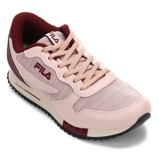19adecd0777 Tênis Fila Euro Jogger Sport Feminino - Rosa Claro - Compre Agora ...