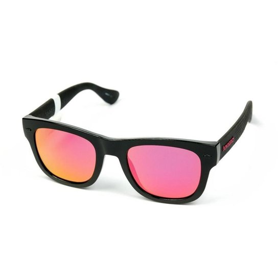 660fefcec2002 Óculos Havaianas Paraty - Preto e Rosa - Compre Agora