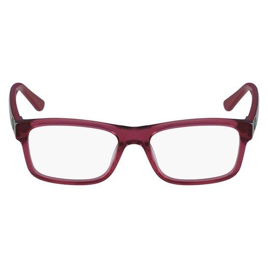 c4de0cb8780f4 Armação Óculos de Grau Lacoste L3612 526 49 - Vinho