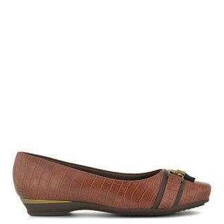 6aaddb3b05 Sapato Comfort Napa Croco