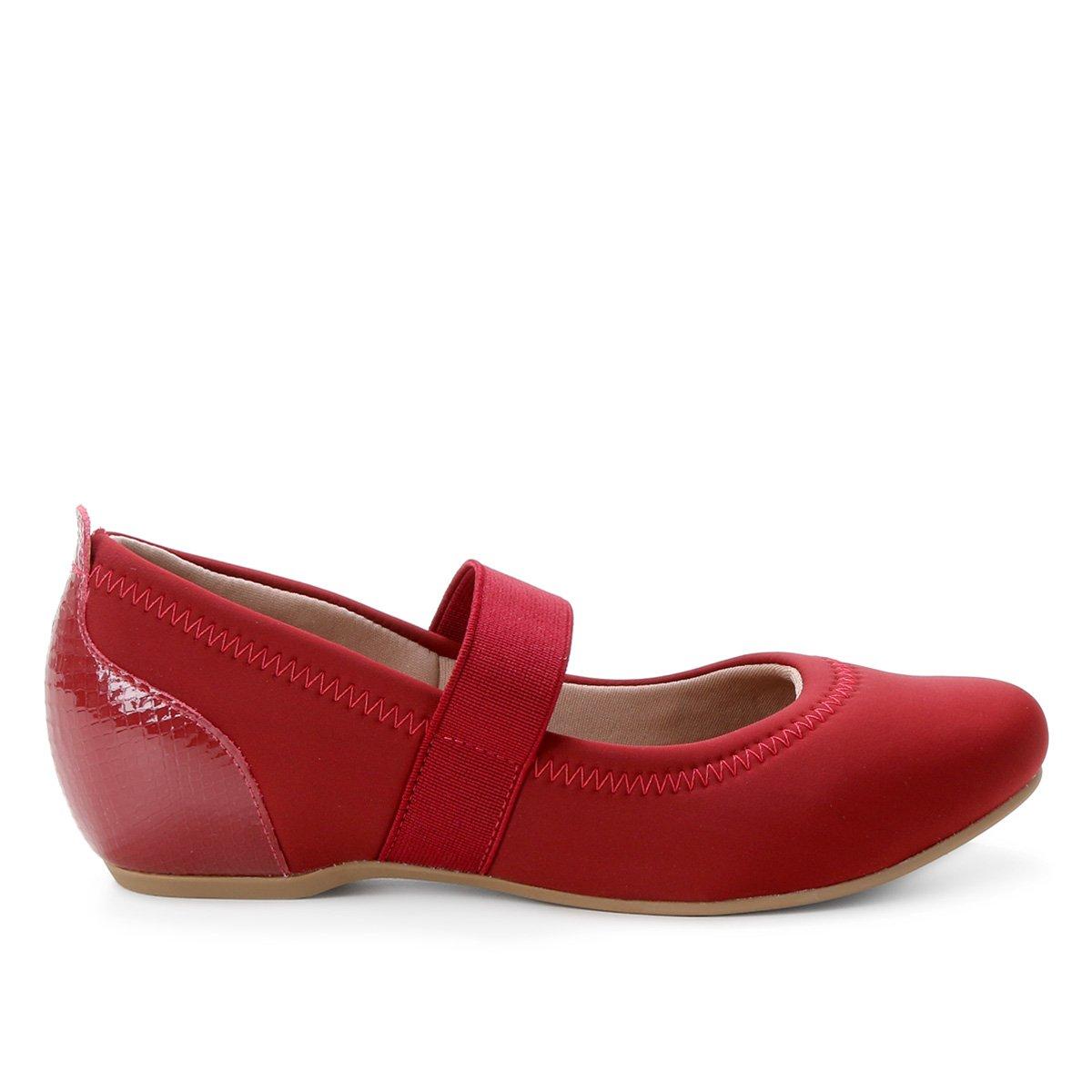 Sapato Usaflex Liso Feminino