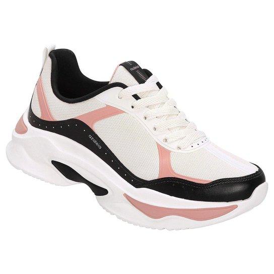 7c279805057 Tênis Azaleia Chunky Sneaker Feminino - Preto e Rosa - Compre Agora ...