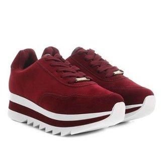 edb4adf276310 Tênis Vizzano Sneaker Bufalo Flatform Feminino