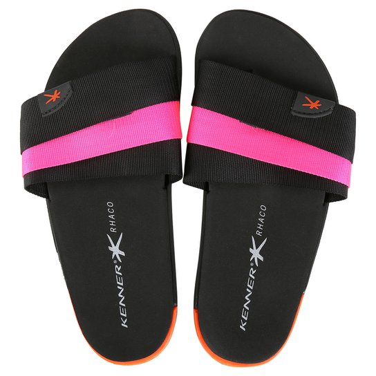 67780866f6 Chinelo Kenner Rhaco S-On Hold Black - Compre Agora