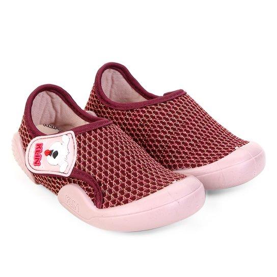 eb3ac899d4 Tênis Infantil Klin New Confort Feminino - Vinho - Compre Agora ...