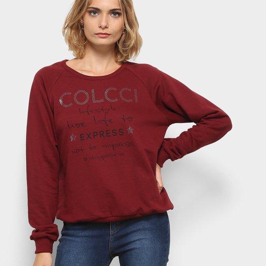 27f58a366 Moletom Colcci Estampado Hotfix Feminino - Compre Agora | Zattini