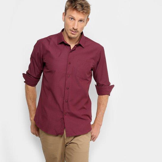 Camisa Social Broken Rules com Bolso e Mini Print Masculina - Compre ... 3d01b27ef8