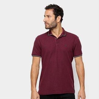 Camisa Polo Piquet Ellus Gola Listrada Masculina 8862c82152c4d