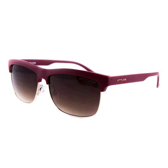 74543987d5846 Óculos Atitude De Sol - Vinho. Loading.