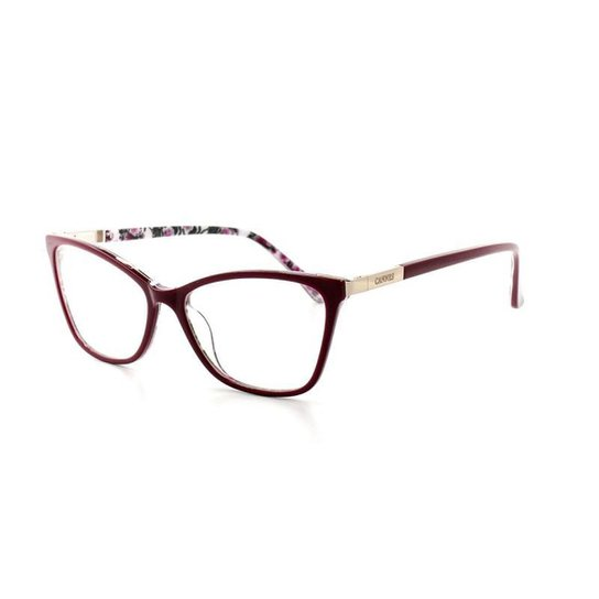 3e018afb684f9 Armação De Óculos De Grau Cannes 3021 T 53 C 2 Feminino - Compre ...