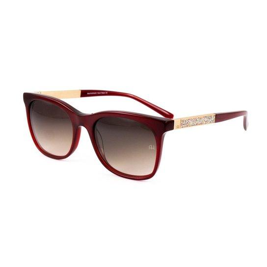 Óculos de Sol Ana Hickmann - Vinho - Compre Agora   Zattini 284b8aa9a9