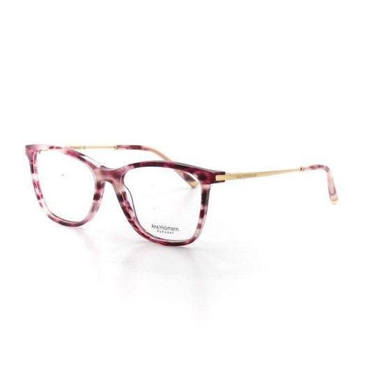be80333fd5de5 Armação De Óculos De Grau Ana Hickmann 6340 T 54 C E03 Feminino - Vinho