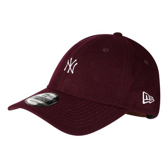 10e5a25eb4 Boné New Era MBL New York Yankees Aba Curva 920 St Mlb Wool - Compre ...
