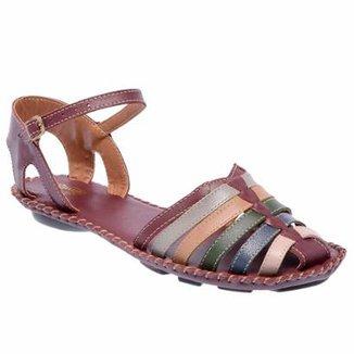 b545be8702c Sandália D R Shoes Couro Feminina