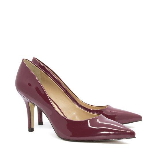 13b45d552 Scarpin Shoes Inbox Clássico em Verniz - Compre Agora