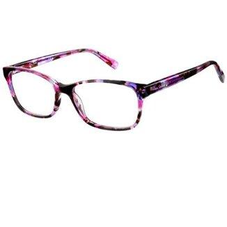 061aa5eedb9c6 Armação Óculos de Grau Pierre Cardin PC8447 2TM 5,5 cm
