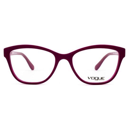 43f9ee195 Óculos de Grau Vogue VO Feminino - Vinho   Zattini