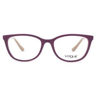01acf0363 Óculos de Grau Vogue Light & Shine VO Feminino