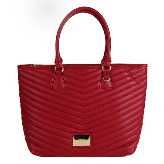 1e68e67a3 Bolsa Santa Lolla Shopper Matelassê Feminina - Vinho - Compre Agora ...