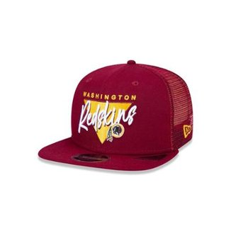 8d3ca3bd9 Boné Trucker Washington Redskins NFL Aba Reta New Era