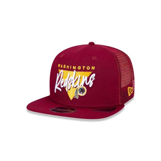 Boné Trucker Washington Redskins NFL Aba Reta New Era - Compre Agora ... 5df8e01899c