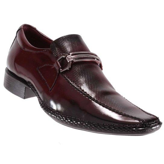212f0c3df Sapato Social Gofer Masculino Fivela Couro Verniz Legítimo | Zattini