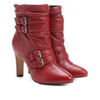 d2afe6b28 Botas Shoestock Vermelho - Calçados | Zattini