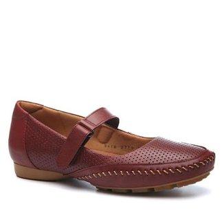 6dd143218f731 Mocassim Couro Doctor Shoes 2779 Feminino