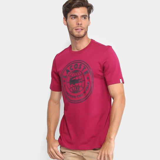 Camiseta Lacoste Live Estampada Masculina - Compre Agora   Zattini d370a990ce