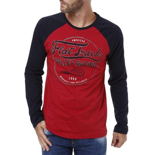 Camiseta Manga Longa Colisão - Compre Agora  dd494675b2f68