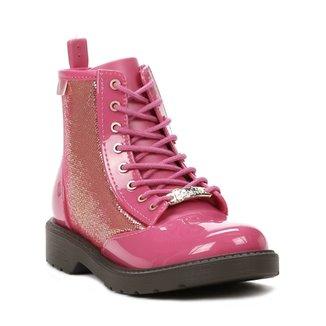 22396d1244d Bota Cano Longo Barbie Infantil Para Menina - Marrom rosa