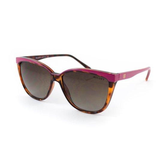 0e1430c3f Óculos de Sol Bulget - Marrom e Rosa | Zattini