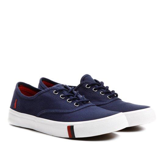 Tênis Reserva Montecar Masculino - Azul e Branco - Compre Agora ... 837fce01a65
