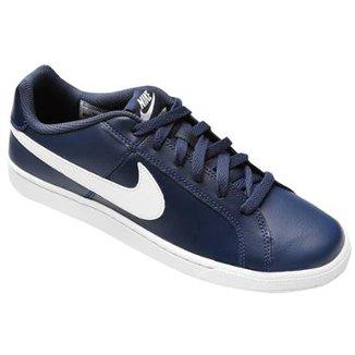 e9979d2fd29 Tênis Couro Nike Court Royale Masculino