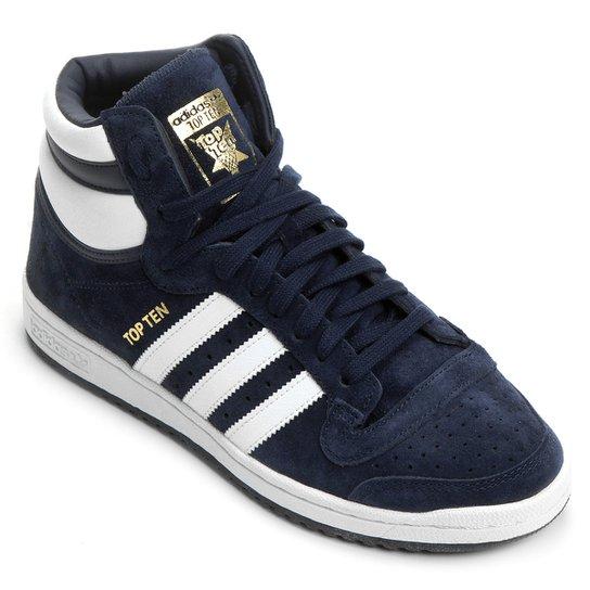 c56de0c854b Tênis Adidas Top Ten - Marinho+Branco