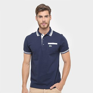 ad4e747191a Camisa Polo Lacoste Yh93 Masculina