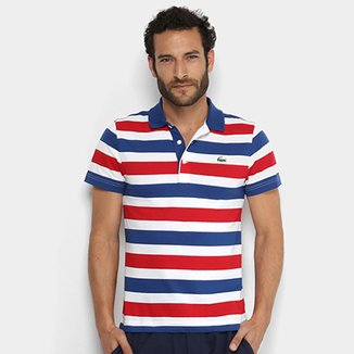 a3ca74acf6a8a Camisa Polo Lacoste Masculina