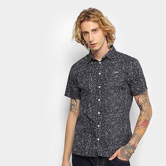 5a3082168e Camisa Colcci Estampada Classic Masculina