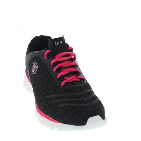 d8b1f70404 Tênis Lynd 430 Feminino - Preto e Pink