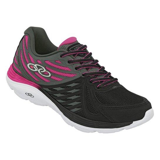 27d8918fcb Tênis Olympikus Flix 2 Feminino - Preto e Pink