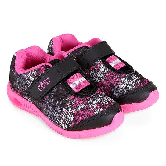 fc728538dc3 Tênis Infantil Kidy Hoox Baby Velcro E Elástico Feminino - Compre ...