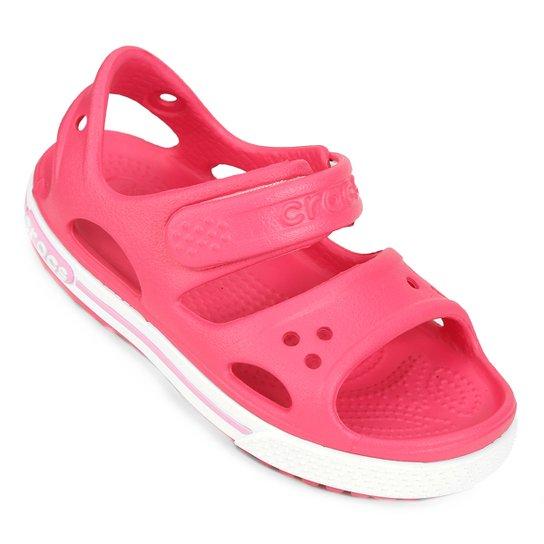 0b46b3c6b25 Sandália Crocs Infantil Crocband II PS - Pink - Compre Agora