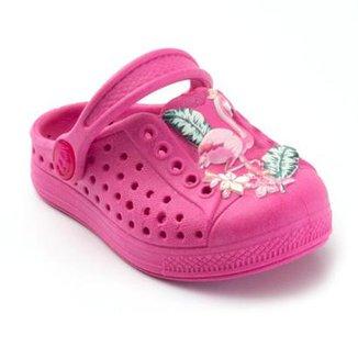 8fbd40586a Babuche Infantil Plugt Joy Flamingo