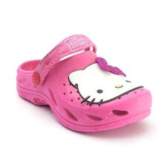 ba20ecfcbb2 Babuche Infantil Plugt Hello Kitty